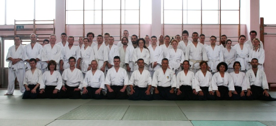 2007 - Sligo (Ireland) - Lazio-Ireland Aikido Exchange with Fabio Mongardini Sensei