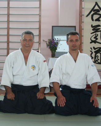 2007 - Sligo (Ireland) - with Fabio Mongardini Sensei