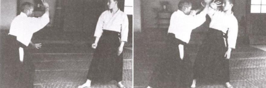 O Sensei esegue Shomenuchi Ikkyo