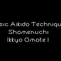 Shomenuchi Ikkyo 1