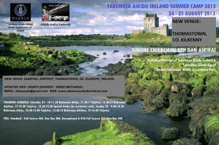 Takemusu Aikido Ireland Summer Course 2013