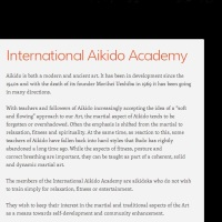 IAA - INTERNATIONAL AIKIDO ACADEMY