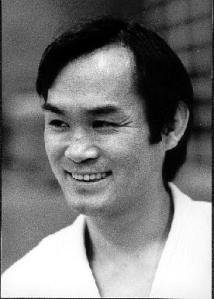Un ritratto di T.K. Chiba da giovane