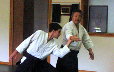 Gaku Homma in action at the Blue Stack