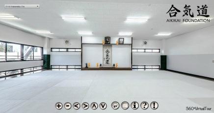 Aikikai Hombu Dojo Virtual Tour - 360 Panoramic Photography