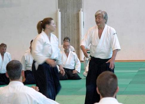 Y. Yamada torna in Emilia per Aikido Insieme