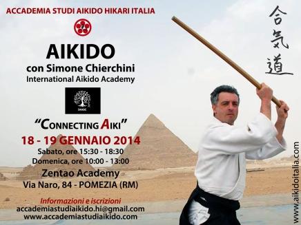 Simone Chierchini visiterà il dojo di Stefano Mazzilli a Gennaio