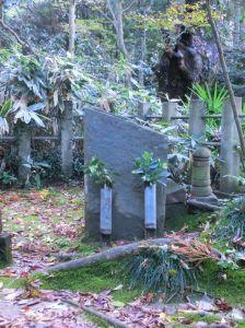Tomba del fondatore Iizasa Ienao, presso il tempio di Katori