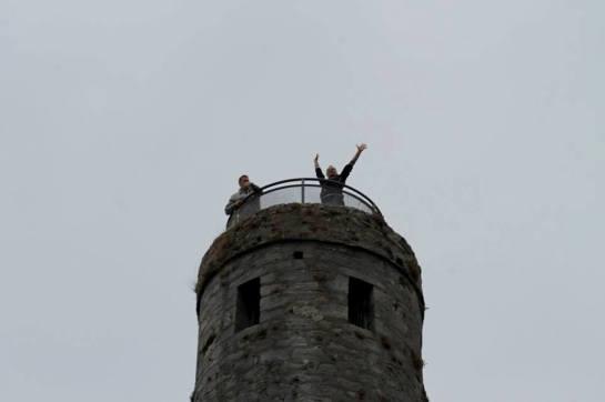 Aikido sulla Round Tower