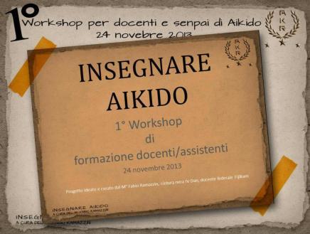 Una novità nel panorama didattico dell'Aikido italiano