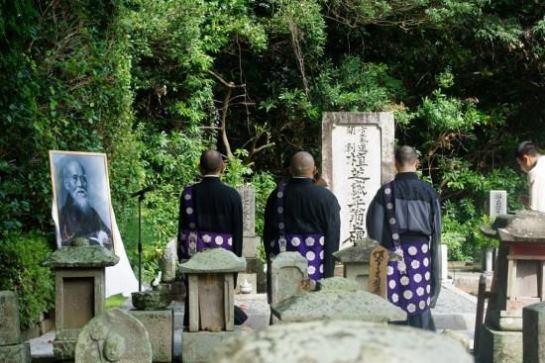 La tomba di O'Sensei, e forse quella dell'Aiki?