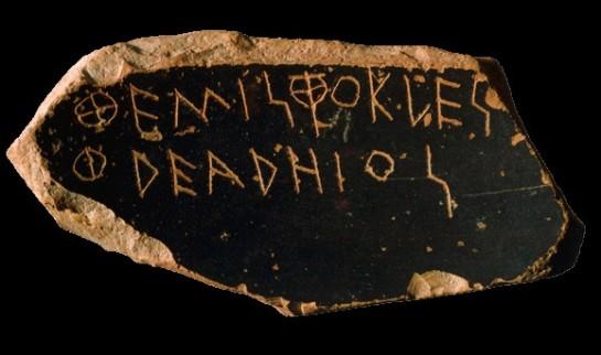 L'ostrakon di Temistocle