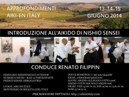 Approfondimenti Aiki-en Italy – Introduzione all'Aikido di NishioSensei