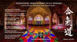 International Aikido Academy 2014/15 Seminars