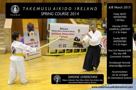 S. Chierchini sarà di nuovo in azione in Irlanda nel mese di Marzo