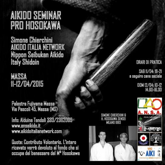 Seminario Benefico Pro-Hosokawa  Massa