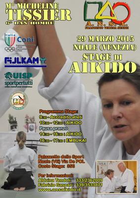 Micheline Tissier torna in Italia ospite di ANSA Aikido