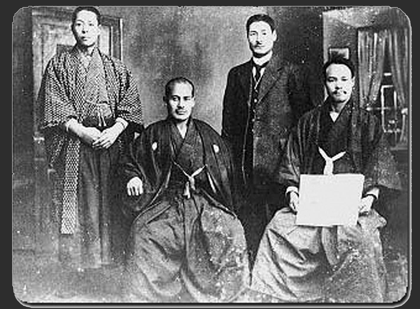 Ueshiba Morihei in Hokkaido
