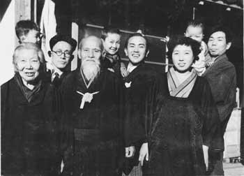Ueshiba Morihei - Tohei Koichi - Saito Morihiro - Kisshomaru Ueshiba Families