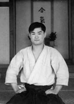T.K. Chiba as a young man