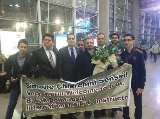 Welcome at Imam Khomeini Airport in Teheran