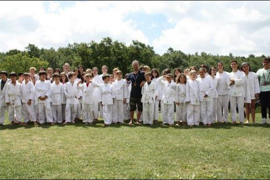 Il gruppone dei ragazzi presenti al Summer Camp 2014