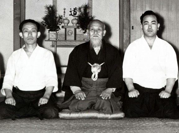 Ueshiba Morihei - Tohei Koichi - Ueshiba Kisshomaru