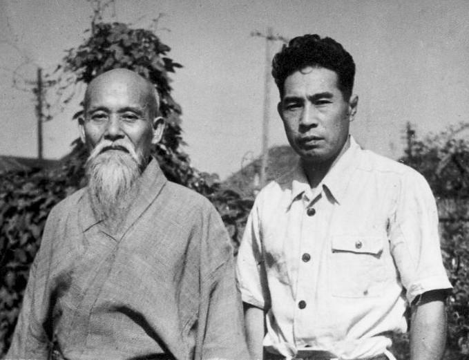 Ueshiba Morihei - Mochizuki Minoru 1951