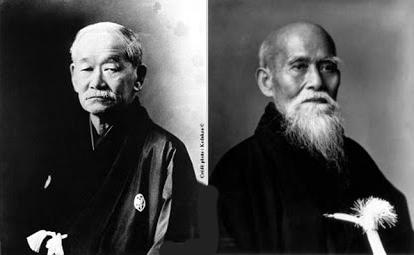 Kano Jigoro - Ueshiba Morihei