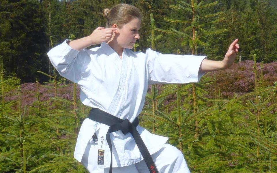 Ragazza Karate