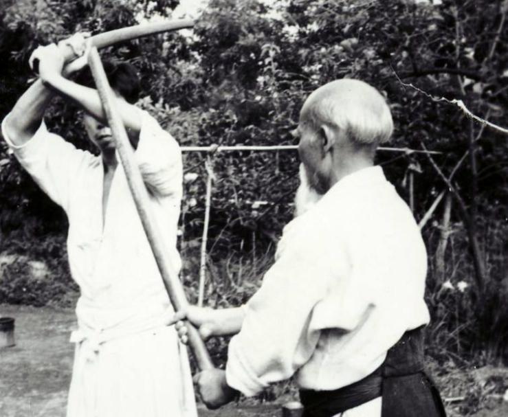 Ueshiba Morihei - Saito Morihiro 05