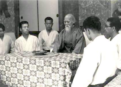 Ueshiba Morihei Uchideshi
