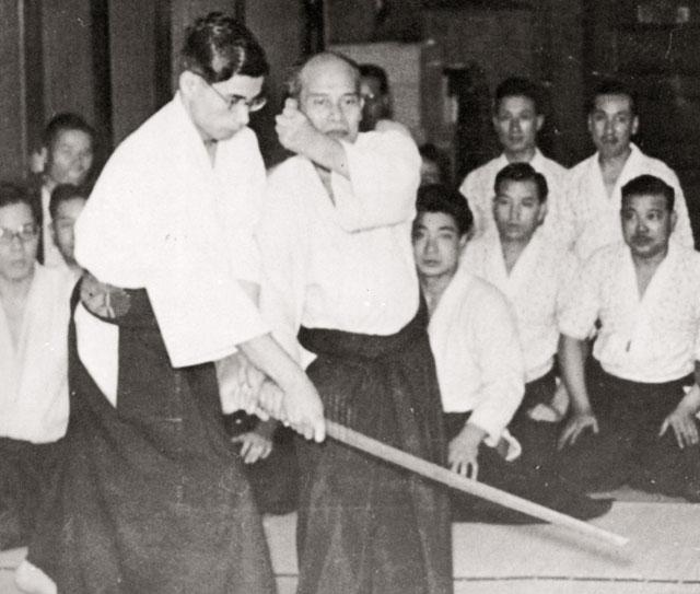 Ueshiba Morihei - Nakakura Kiyoshi